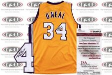 Shaquille O Neal Signed Custom Pro Style Jersey JSA Witnessed