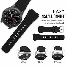 Gear S3 Frontier Band with Case, Shock-Proof and Shatter-Resistant Protective Ca