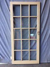 Antique Casement Window Pantry Cupboard Door Cabinet Vintage 2035-16