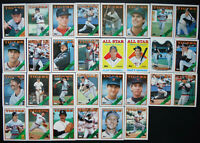 1988 Topps Detroit Tigers Team Set of 30 Baseball Cards