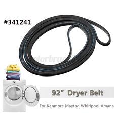 92'' Dryer Rib Belt For Maytag Whirlpool Amana 341241 Ap2946843 Ps346995 Ap3