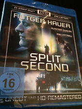 Split Second (Region Free Blu-Ray) Rutger Hauer FAST SHIPPING Factory Sealed