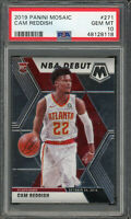 Cam Reddish Atlanta Hawks 2019 Panini Mosaic Basketball Rookie Card #271 PSA 10