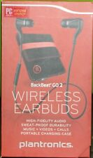 Plantronics BackBeat GO 2 Wireless Stereo Earbuds w/ Charging Case - Black
