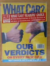 What Car October 1991 - Includes Original Supplements And Plastic Cover