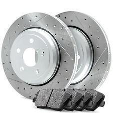 Front R1 Carbon Drill Slot Brake Rotors & Ceramic Pads BMW (535i) 2011-2013