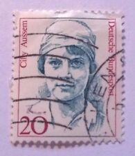 Germany stamp - Cilly Aussem Tennis Player (1909-1963)  - 1988 20 pf FREE P & P