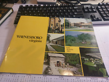 1969 Waynesboro Virginia Chamber Of Commerce Promo Booklet       Memory Lane !!!