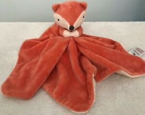TU sainsburys orange fox comfort blanket