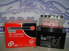 BATTERIA GS GRUPPO YUASA GTX9-BS=YTX9-BS MBK KILIBRE 300 ANNO 2003