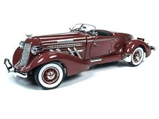 1935 Auburn 851 Boat Tail Speedster 1:18 scale Limited Edition Plum Auto World