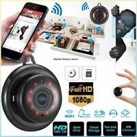 Mini Wireless 1080P HD WIFI IP Camera Spy Smart Home Security Camera NightVision