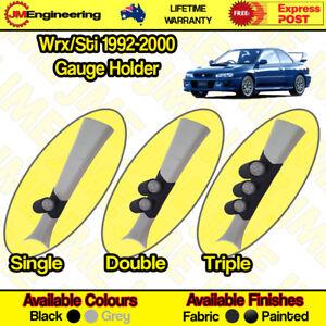 "Subaru Wrx / Sti GC8 1992-2000 Gauge Holder Pillar Pod CLIP ON 52mm 60mm 2"" inch"