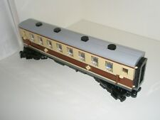 Lego Train - Custom Passenger Coach - Tan + Brown - New - Emerald steam 10194
