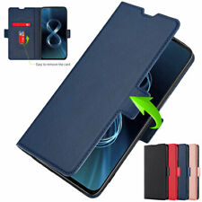 For Asus Zenfone 8, Luxury Flip Leather Magnet Wallet Card Stand Soft Case Cover
