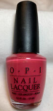 Opi Nail Lacquer, Black Label, Rare, Unopened, San Remo Rouge