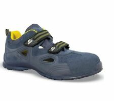 AIMONT BY JALLATTE SIZE 10.5 LIGHTWEIGHT FLEXIBLE SAFETY TOE WORK SANDAL TRAINER