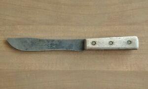 "KA-BAR 7"" Skinning Knife Vintage Full Tang Carbon Steel"