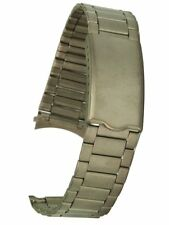 Titan Uhrarmband von Osco mit Rundanschluss 18 mm Metallband Uhrband Uhrenband
