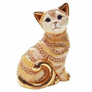 De Rosa - Ginger Cat Figurine