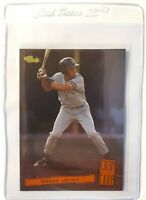 Derek Jeter 1994 Classic Foil Cream of the Crop #C17 Yankees Hall of Famers Card