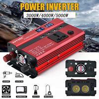 3000W/4000W/5000W Solar Power Inverter Sine Wave DC12V To AC110V/220V Inverter