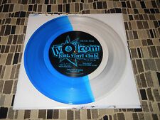 "OBLITERATIONS THE HOLE 7"" VOLCOM BLUE AND CLEAR colored vinyl NEW"