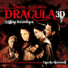 Dracula 3D - CD/DVD - Complete Score - Limited Edition - OOP - Claudio Simonetti
