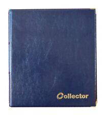 Blue Coin Album 220 Coins 50 pence £1 £2 50p pound Book Folder BEST QUALITY /col