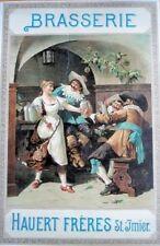 Original Plakat - Brasserie Hauert Frères St. Jmier