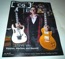 Steve Vai~Collectible Guitar~Cg Magazine~Passion, Warfare, and Beyond~2017~New