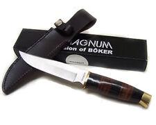 Coltello Boker 02gl684 magnum premium soligen da caccia con fodero lama INOX