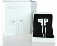 Urbanista London In Ear Stereo Headphones With Hands Free Microphone White New