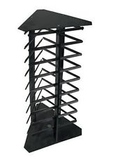 3-Sided Black Rotating Earring Hanging Card Display Stand Jewellery Shop Stand