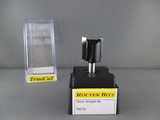 "Router Bit- 18mm Straight 2 F Bit 1/4"" Shk (TruaCuT)"