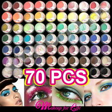 70 Color/set Makeup Tiny Powder Pigment Glitter Sheet Eyeshadow Cosmetics Set
