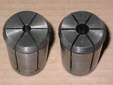 2 OZ-Spannzangen Ø 8 und Ø 12 mm für Fräser mit Aussen-Anzugsgewinde