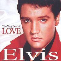 The Very Best of Love by Elvis Presley (CD, Dec-2001, Madacy)