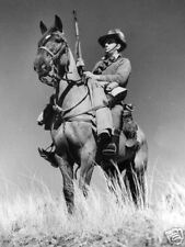 WW2  Photo Australian Cavalry Trooper Australia WWII World War Two ANZAC