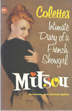 Collette's MITSOU 1957 Vintage First Edition Paperback