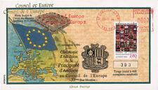 "CE45-IVC FDC Conseil Europe ""Adhésion Andorre"" 11-1994"
