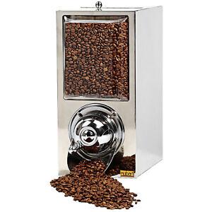 Coffee Beans Dispenser (Chrome)