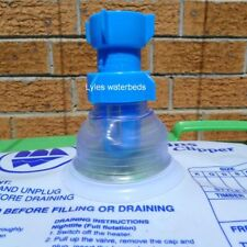 Perfect Union waterbed fill and draining adaptor Blue Magic Fat Sac