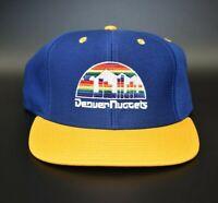 Denver Nuggets adidas NBA Hardwood Classics Retro Men's Snapback Cap Hat