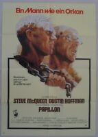 P84 Kinoplakat - PAPILLON Steve McQueen Dustin Hoffman