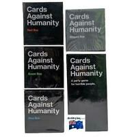 Cards Against Humanity 5 Box Bundle CAH Base Game + Absurd/Blue/Green/Red