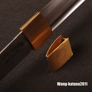 Brass Habaki Replacement Plain Collar for Japanese Samurai Katana Wakizashi