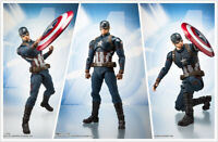 S.H.Figuarts Marvel Avengers Endgame Captain America SHF Action Figures KO Toy