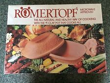 Vintage NIB Romertopf #111 West Germany Terracotta Clay Pot Cooker Roaster