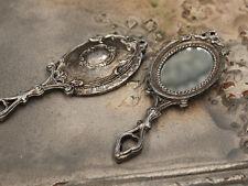 Chic Antique Spiegel Handspiegel silber antik Vintage Shabby
